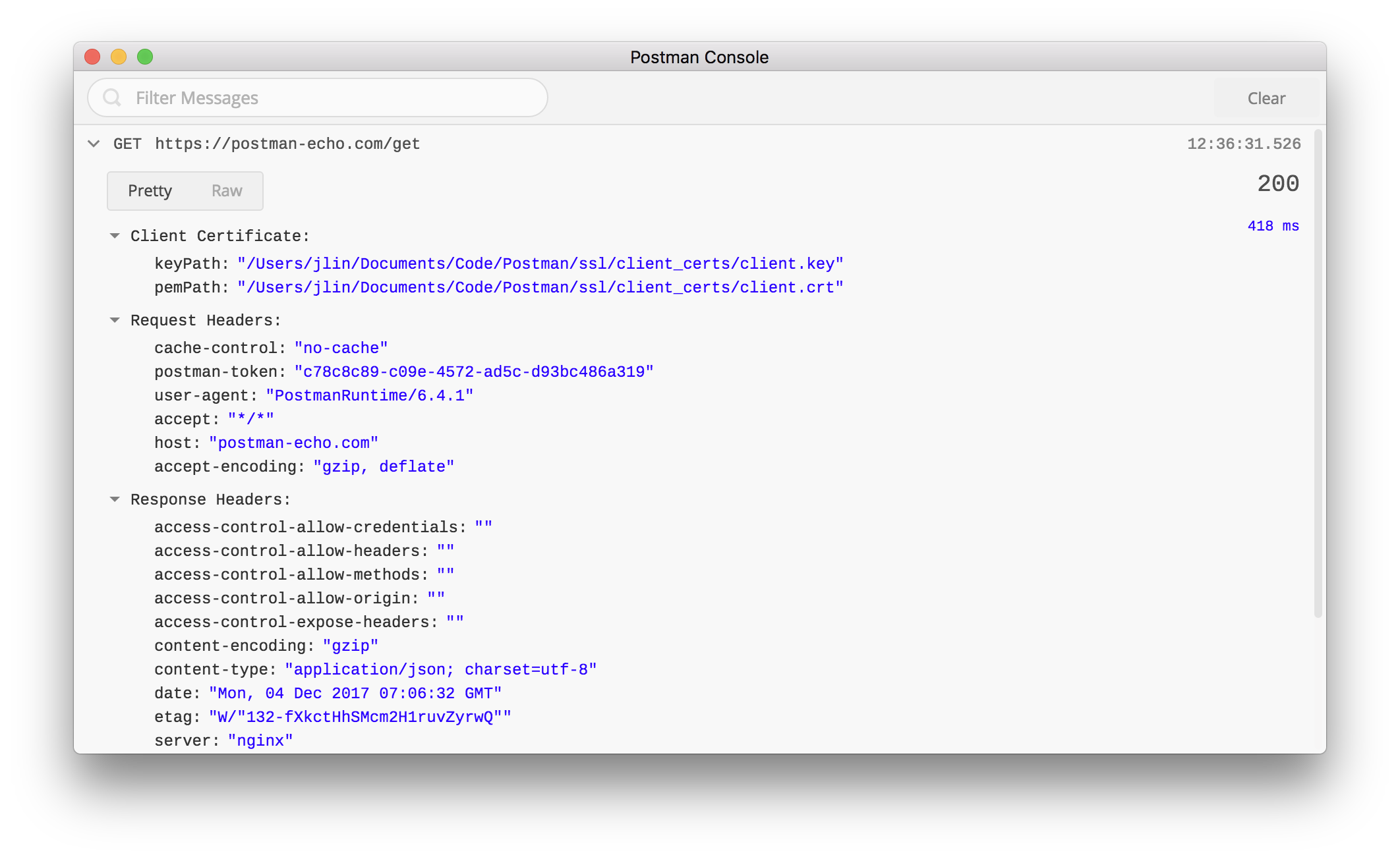 Set and view SSL certificates with Postman - Postman Blog