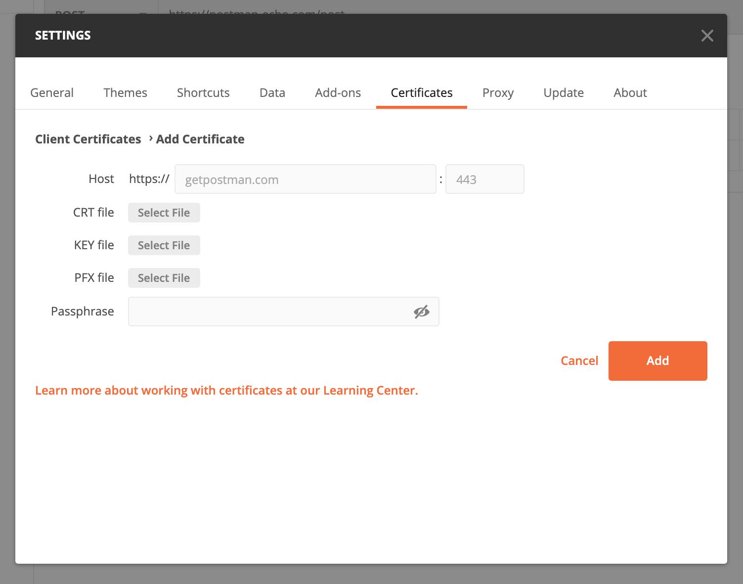 encryption certificate management