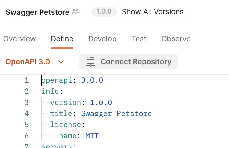 Swagger Petstore API